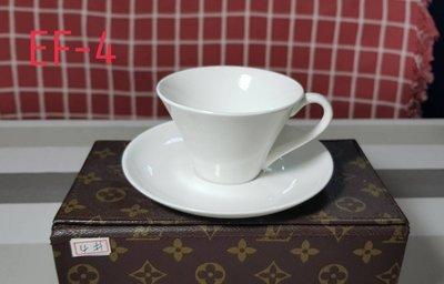 【無敵餐具】瓷器歐式反口咖啡杯組(10x7cm/200cc)濃湯杯/拿鐵杯/湯杯/濃縮杯 量多可詢價【A0389】