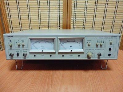 康榮科技二手儀器領導廠商 Leader LE1854 DVD/CD Jitter Meter(抖動分析儀)