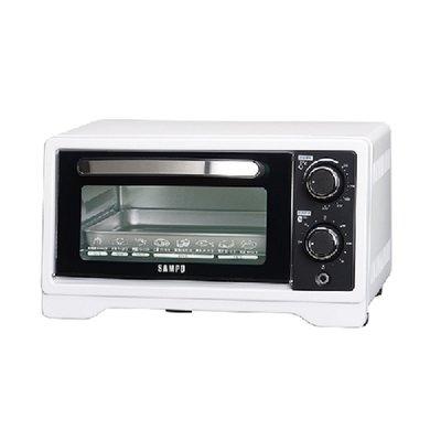 【小饅頭家電】『A級福利品‧數量有限』SAMPO聲寶 9公升多功能溫控定時電烤箱 KZ-XF09