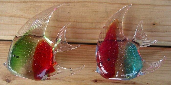 水晶玻璃神仙魚