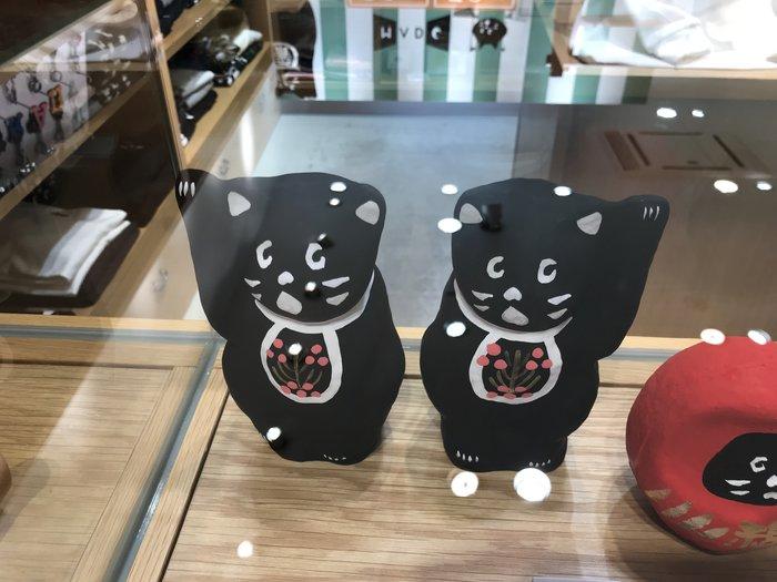 日本 正品 Ne-net貓 2018 日本製最新招財貓左右手擺飾
