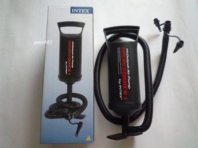 玩樂 美國品牌 INTEX68612 手壓大充氣筒 充氣泳池 充氣床 兒童游泳圈 以充