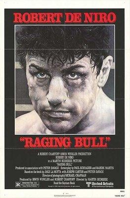 蠻牛 (Raging Bull) - 馬丁史柯西斯、勞勃狄尼洛Robert De Niro- 1980年美國原版電影海報