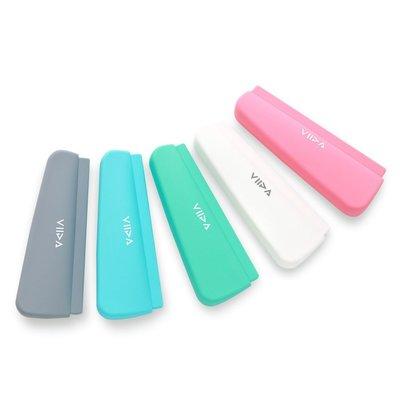 【現貨】QB選物 ❤ VIIDA ❤ Chubby 矽膠餐具防水收納袋 (五色可選)