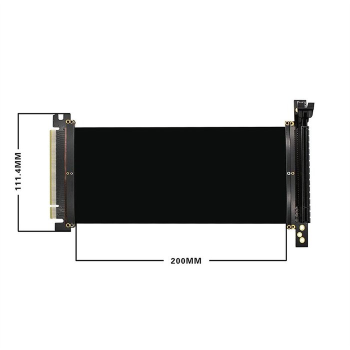 光華CUMA散熱精品*Awesome AWD-CB-RSE002 PCI-E 3.0 16x 延長線~現貨
