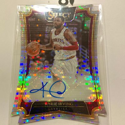 Select Kyrie Irving 切割簽名卡