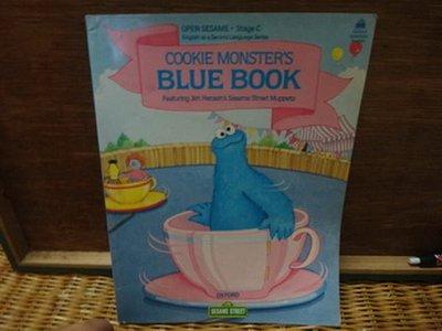 【愛悅二手書坊 16-12】COOKIE MONSTERS BLUE BOOK