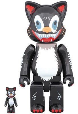 ++全新 Be@rbrick Bearbrick Nyabrick 400% + 100% Kidill Cat
