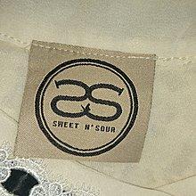 SWEET NSOUR 米色造型上衣(103)