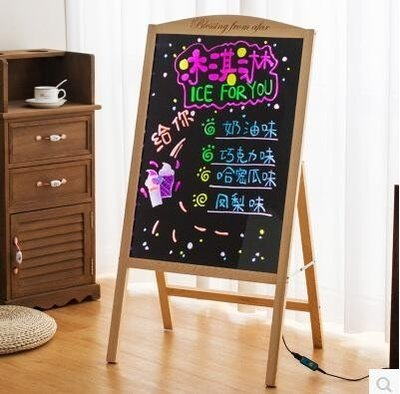 電子led螢光板廣告板發光手寫字板展示...