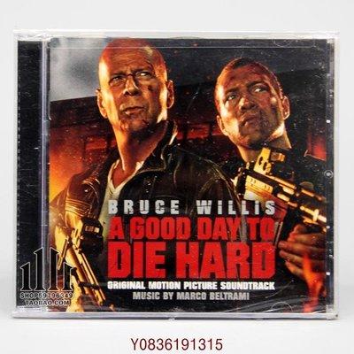 爆款CD.唱片~虎膽龍威5 A Good Day To Die Hard 電影原聲 CD U
