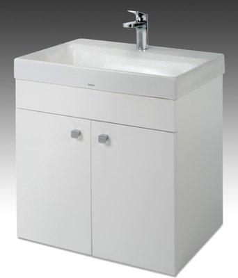 [勞倫斯衛浴生活商場]TO-1616E烤漆浴櫃-寬59CM(合TOTO-LW1616CB面盆)(價格不含盆)專業淋浴拉門