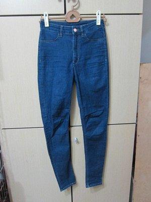 衣市藍~H&M 彈性窄管牛仔褲 (EUR36~USA6~165/85A~) (264) (191118)
