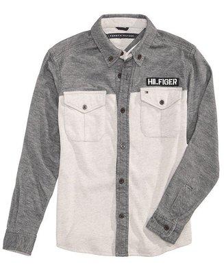 Tommy Hilfiger 男童長袖軟質衫  尺寸7歲(款偏大)