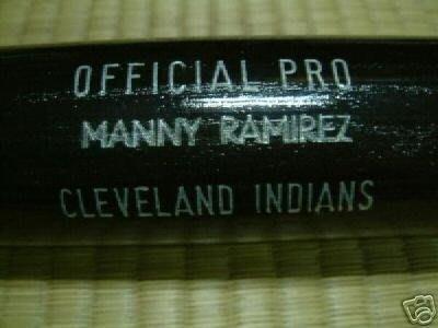 貳拾肆棒球-美國大聯盟MLB  MANNY RAMIREZ 支給球棒