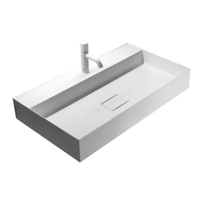 義大利 FALPER QUATTRO.ZERO 洗臉盆,可搭配技師到府安裝,另提供義大利雲石檯面供選配。