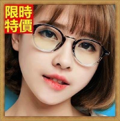 眼鏡框 鏡架-韓版時尚復古圓框女配件4色71t9[獨家進口][巴黎精品]