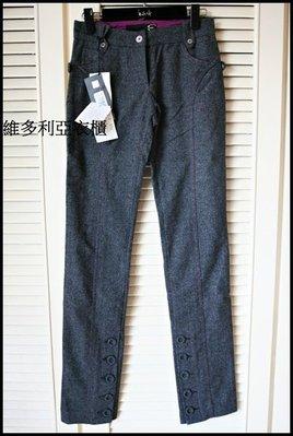 全新專櫃真品【roberto cavalli】副牌Just cavalli 鉛筆褲pencil pants煙管褲cigarette pants原價$32800