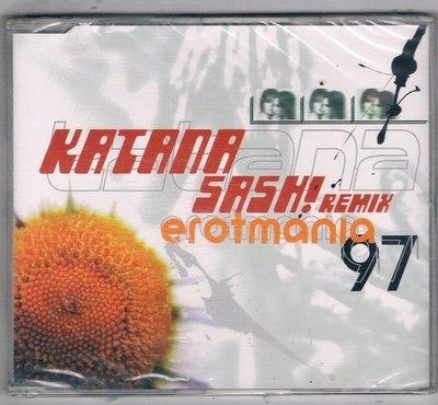 [鑫隆音樂]西洋單曲-KATANA SASH! REMIX . Erotmanin'97 {74321504292} /全新