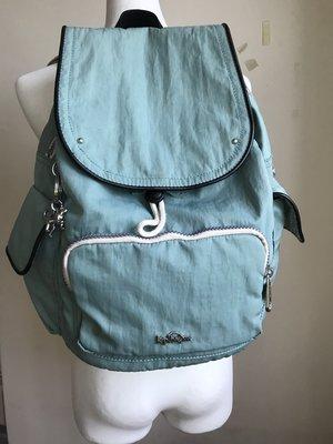 Kip Ling水藍後背包~用過的~送一盒EX面膜