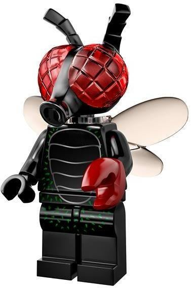 現貨【LEGO 樂高】益智玩具 積木/ Minifigures人偶系列: 14代人偶包抽抽樂 71010   蒼蠅怪