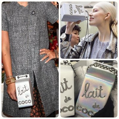 Chanel ❤️ 炫彩牛奶盒