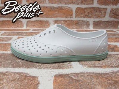 女鞋 BEETLE 現貨 NATIVE JERICHO 白綠 馬卡龍配色 GLM04W-139 W5=22CM
