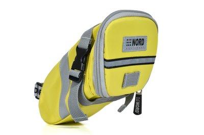 【NORD】Castledale 自行車特式座墊(坐墊)/車尾 包/袋(大碼)-螢光黃 (RB058B) 免運