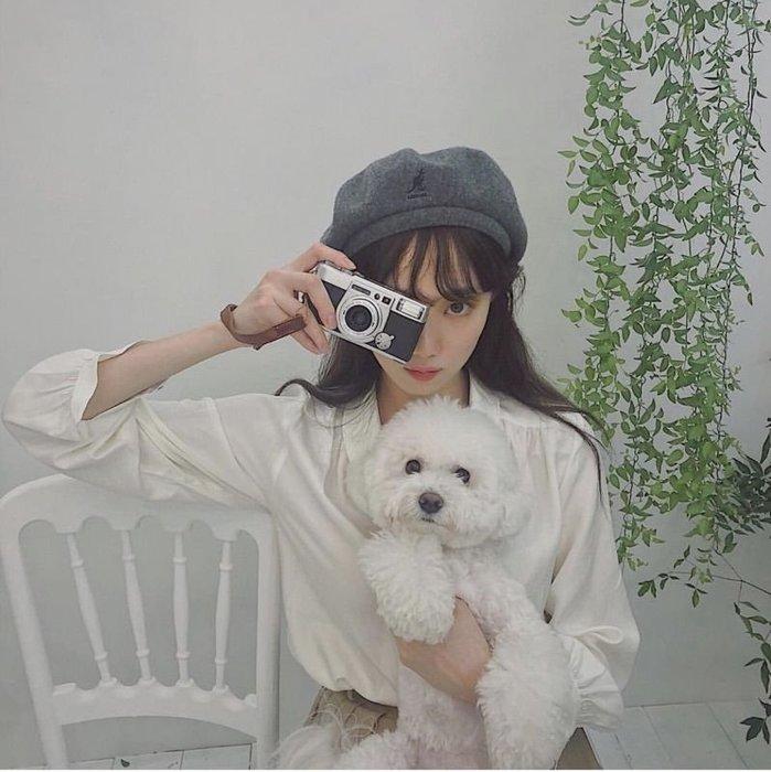 【蜜小姐】美國正品 KANGOL Wool Jax Beret 羊毛 貝雷帽(黑)