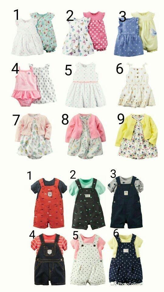 卡特 Carters 女寶寶 洋裝組