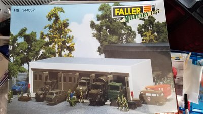 1/87 Faller military building.No overseas buyers. 🙇♂️🙇♂️