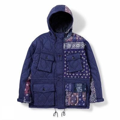 NEIGHBORHOOD SMOCK MOD / CE-JKT 拼接變形蟲連帽軍裝風外套。太陽選物社