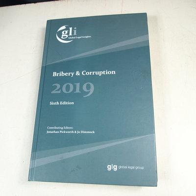 【考試院二手書】《Global Legal Insights:Bribery&Corruption》九成新(32Z34)