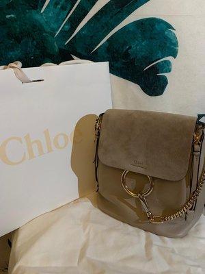 (100%真)Chloe Faye Backpack (SMALL size) 99%New