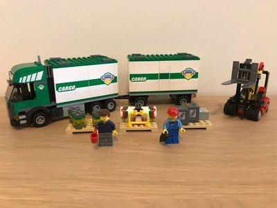 LEGO 7733 City Truck & Forklift 城市 貨車及鏟車