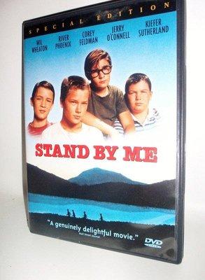 美版全新DVD~站在我這邊(伴我同行)stand by me(1986)~瑞凡·費尼克斯~繁中字幕