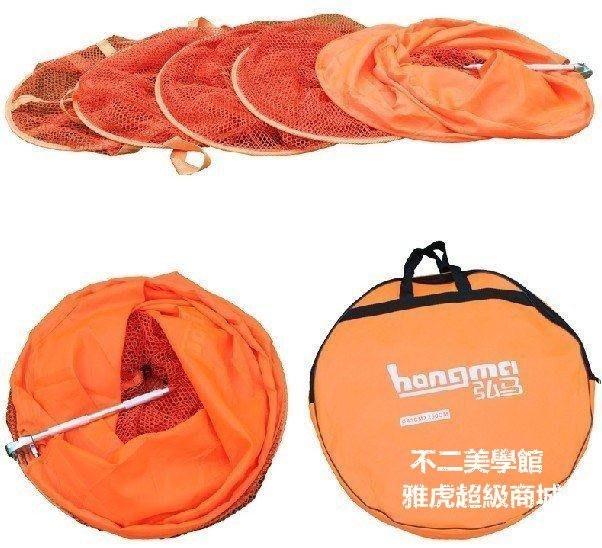 【格倫雅】^40CM速幹防掛魚護(萬向調節) 漁網 魚戶 魚兜 魚籠 贈送魚護包446