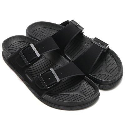 =CodE= PEOPLE FOOTWEAR LENNON 輕量防水扣環涼拖鞋(全黑) NC04-030 勃肯 男女