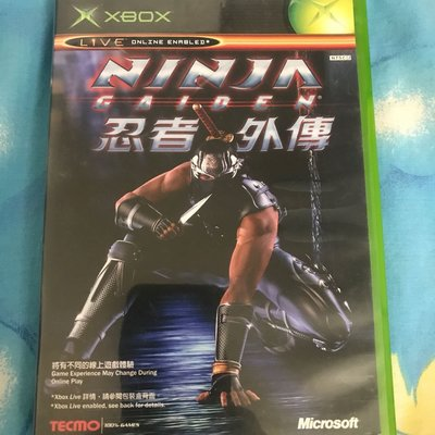 初代Xbox 忍者外傳 ninja gaiden