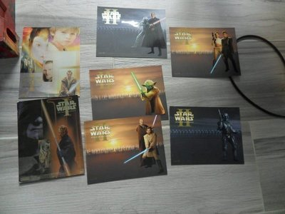 星球大戰CARD ,STAR WAR POST CARD X7張