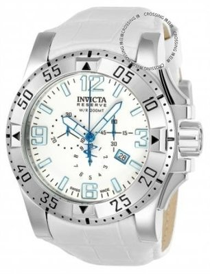 展示品 Invicta 22004 Reserve 50mm Excursion Arctic Edition SwissQuartz Chrono