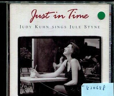 *真音樂* JUST IN TIME / JUDY KUHN SINGS JULE STYNE 二手 K20658