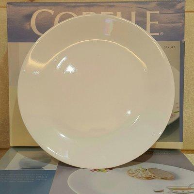 ~全新~降價出清~CORELLE康寧純白10吋平盤/ 晚餐盤~ 桃園市