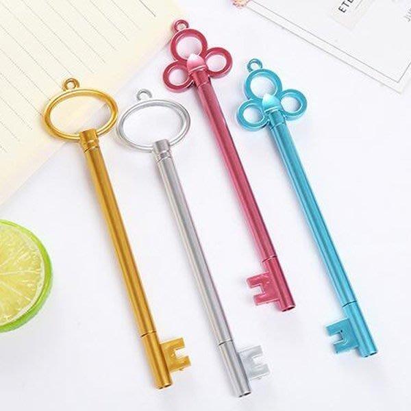 《Jami Honey》【JC2932】中古世紀金屬鑰匙造型中性筆 水性筆 『不挑款』