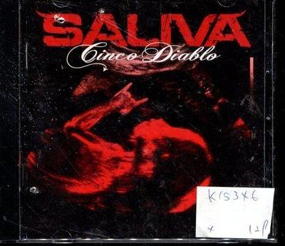 *真音樂* SALIVA 二手 K15346 (封面底破)