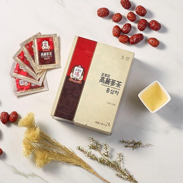 正官庄 高麗蔘茶 50包 (一盒)保存期限 最新