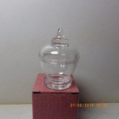 紫晶宮***吉祥寶瓶透明水晶舍利塔佛塔 高6cm 裝甘露丸***品質保證