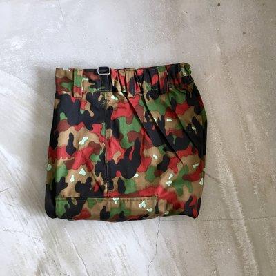 瑞士公發 Swiss Combat Trousers 血腥迷彩 四果迷彩 五口袋 雙側大口袋 軍褲 古著 vintage