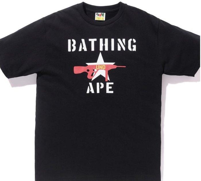 ☆AirRoom☆【現貨】 A BATHING APE BAPE X UNDEFEATED stencil 限量 聯名