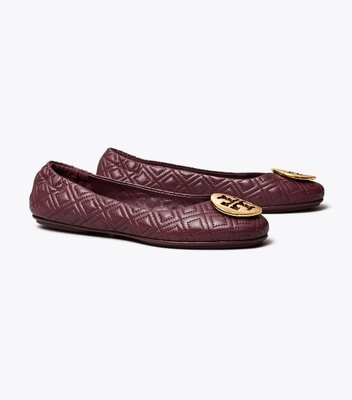 Tory Burch Minnie Travel Ballet Flat, Quilted Leather 1/18止